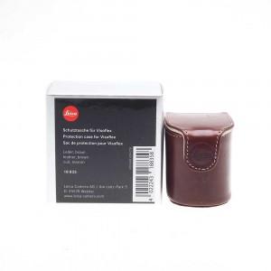 Leica custodia pelle marrone per Visoflex