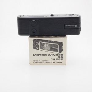 Leica R motor winder + impugnatura MD-R4/MW-R4