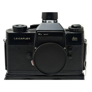 Leicaflex SL Mot black con Leicaflex Motor e Finder