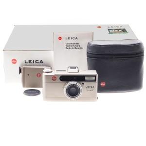 Leica Hightlights SET, Leica Minilux Zoom + Flash + Astuccio (18048)
