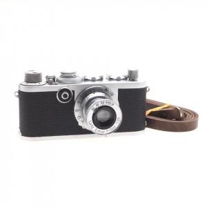 Leica I F + 50mm f/3.5 Elmar (Chrome)