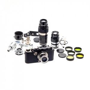 Leica III (model F) Black Paint (KIT)