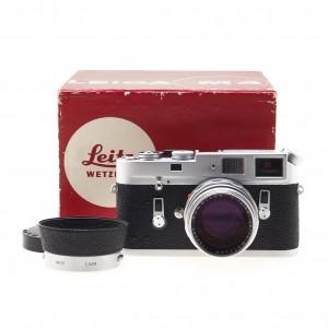 Leica M4 Silver (10400) (KIT) + 50/1.4 Summilux-M I Versione