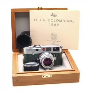 "Leica M6 + 50/2 Summicron-M Leica ""Colombo '92"" EDIZIONE LIMITATA (RARO) Cod. A15"