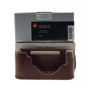 Leica Protector M10, leather, vintage brown (24021)
