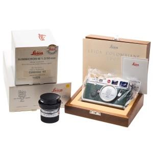 """Leica M6 + 50/2 """"Colombo '92"""" EDIZIONE LIMITATA (+ RARO) Cod. I02"""