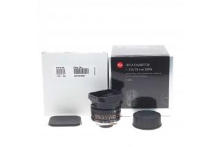Leica M Elmarit  28mm F/2.8 Asph. black bit code