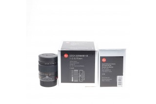 Leica M Summarit 75mm F/2.5 ref.11645 bit code