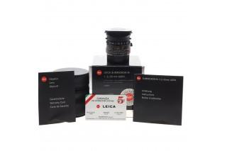 35mm f/2 ASPH. Summicron-M Leica (ref. 11879)